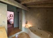 Detail of a bathroom at Relais del Maro,Borgomaro